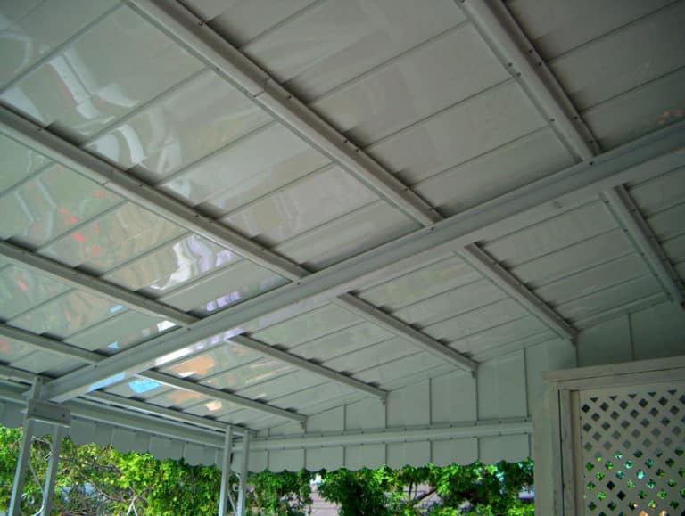 aluminum awning bottom